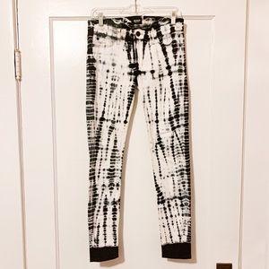 HUDSON tie dye jeans